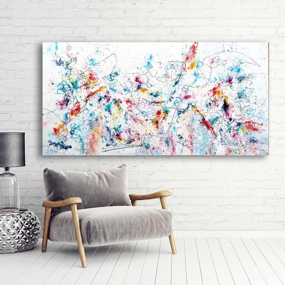 Gemälde AcrylGemälde Acrylmalerei Acrylbilder XXL Wandbilder - Art by Lönfeldt