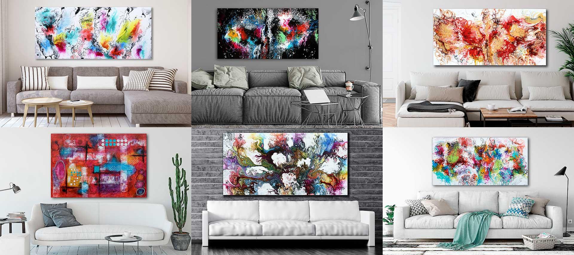 Gemälde Wandbilder Leinwandbilder Kunstwerke moderne Kunst von Michael Lönfeldt