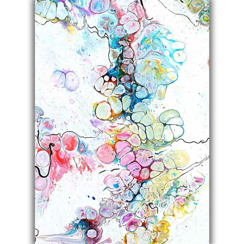 Kunst Poster in farbreiches Design Altitude V