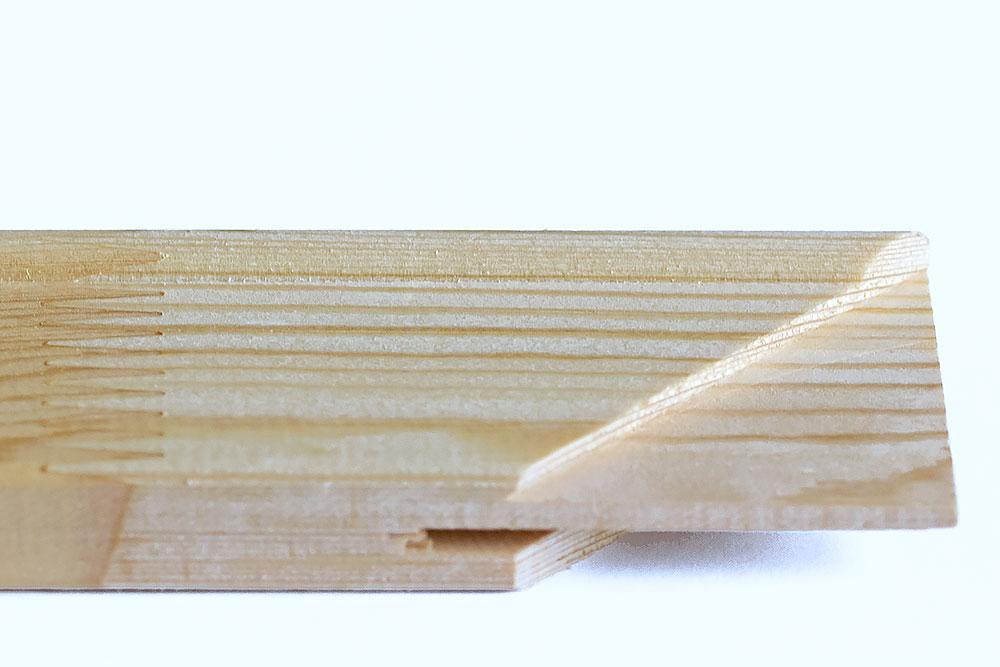 Keilrahmenleisten aus Kieferholz Deutschland FSC-zertifiziert