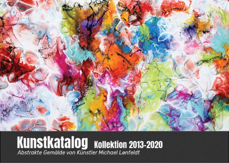 Kunstkatalog Art by Lönfeldt Kollektion Gemälde 2013-2020
