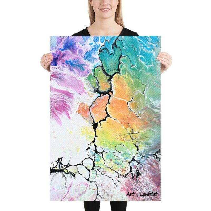 Art Prints mit moderne KUnst für die Wand Altitude IV 60x90 cm