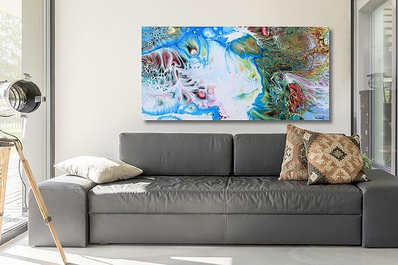 Bilder mit Kunst für Zuhause Essentials I 70x140 cm