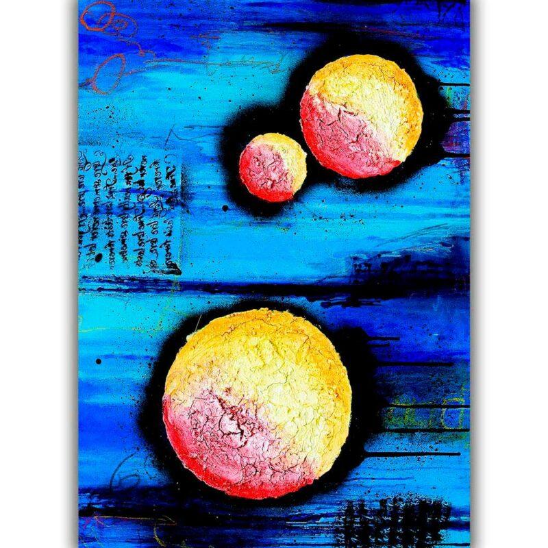 Elegante Plakate mit Kunst für Zuhause Sphere I