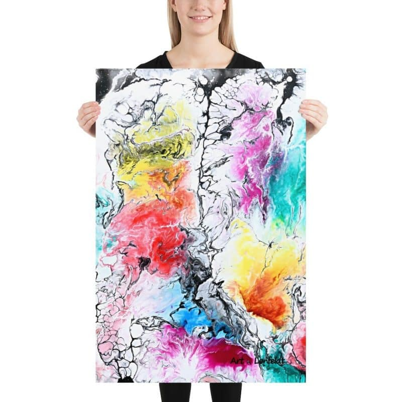 Fine Art Prints abstrakt Design Altitude II 60x90 cm