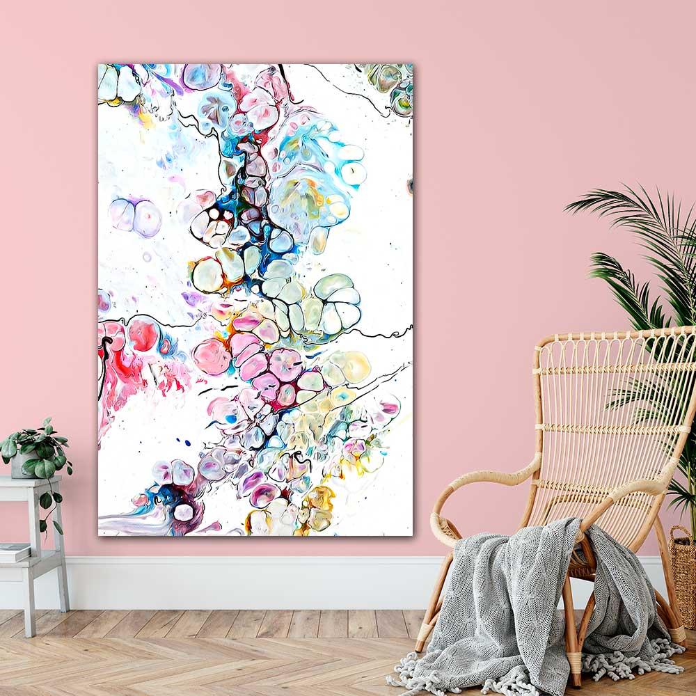 Große Kunst Poster für die Wand im Schlafzimmer Altitude V 100x150 cm