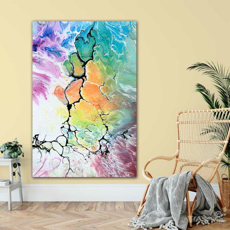 Große XXL Poster für die Wohnzimmerwand - Altitude IV 100x150 cm