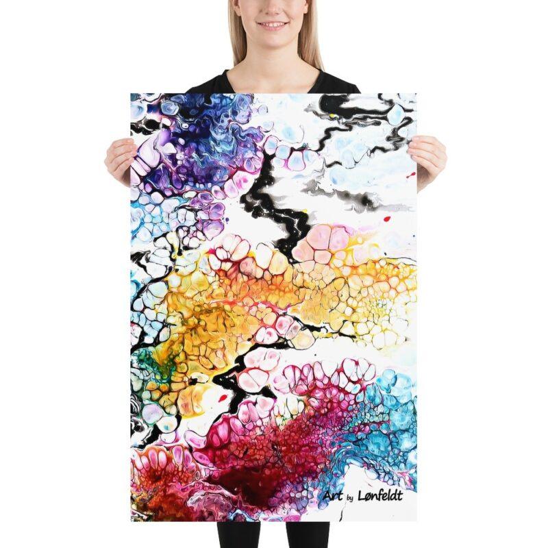 Moderne Kunst Plakat Altitude I 60x90 cm