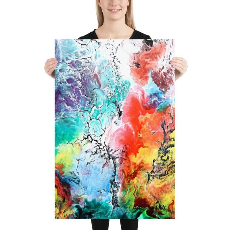 Kunstposter in schöne Farben Altitude III 60x90 cm