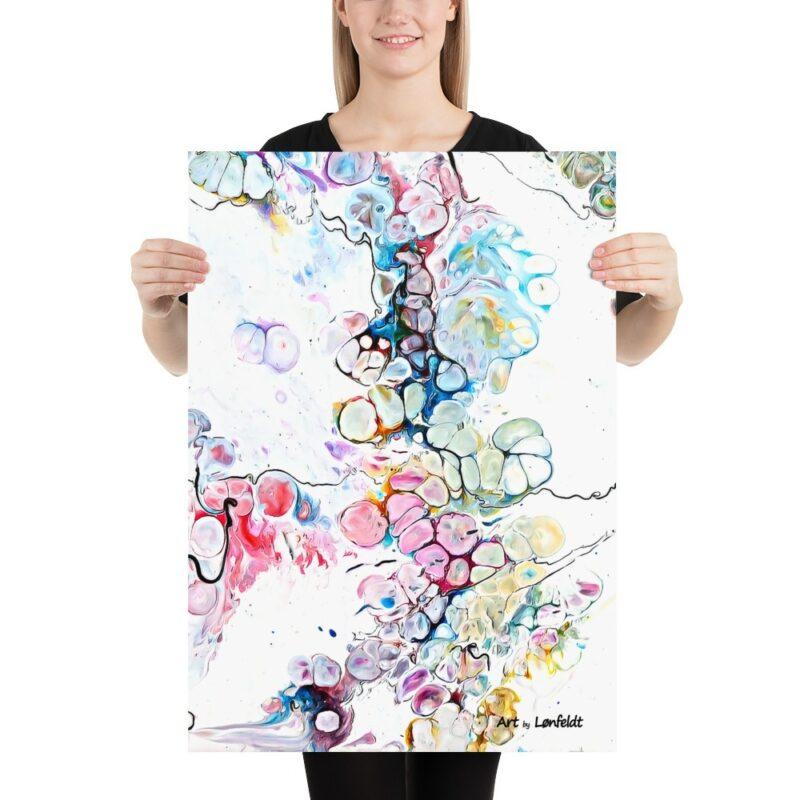 Kunstposter mit schöne moderne Kunst Design Altitude V 50x70 cm