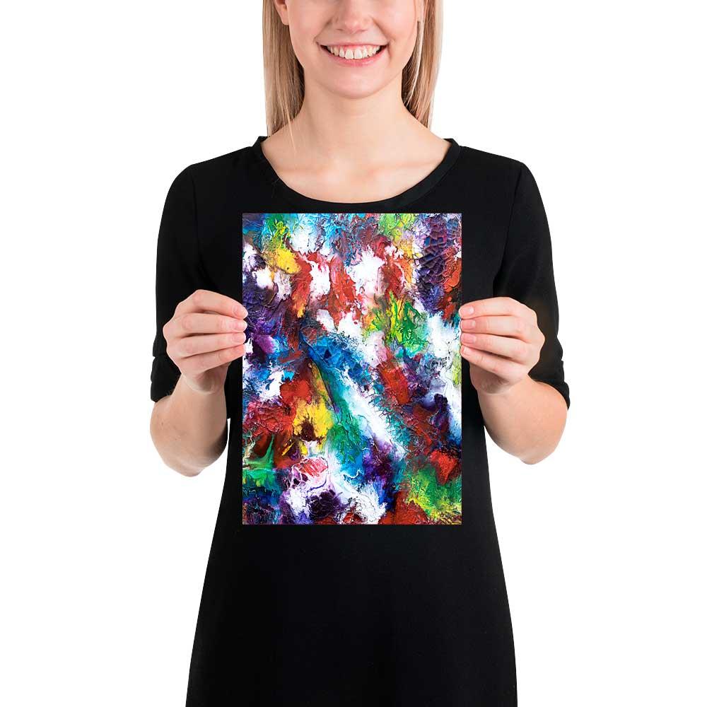 Schöne Kunst Plakate die Farben ins Haus bringen Horizon I 21x30 cm