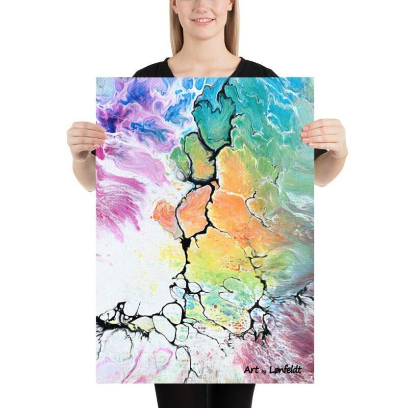 Wnadposter in tollen Farben Altitude IV 50x70 cm