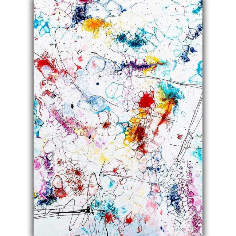 Moderne Art Poster in ansprechenden Farben und tolles Design Elevation II