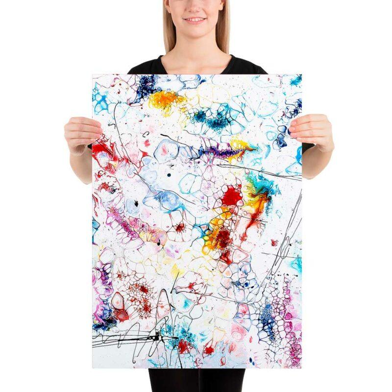 Trendiges Art Poster mit gegenwärtigem Motiv in bester Qualität Elevation II 50x70 cm