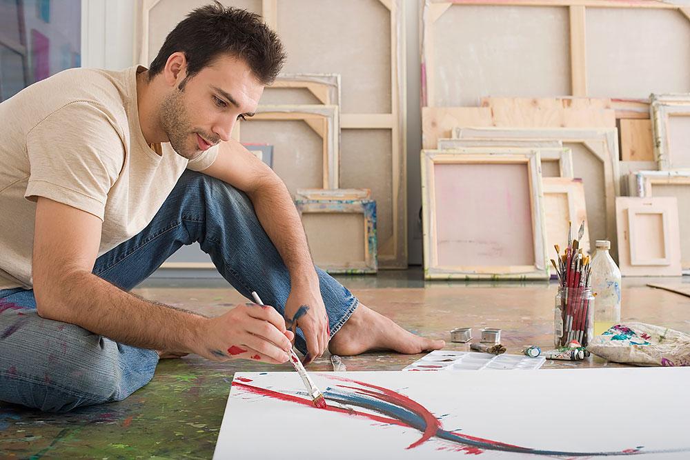 Malen lernen mit Acryl