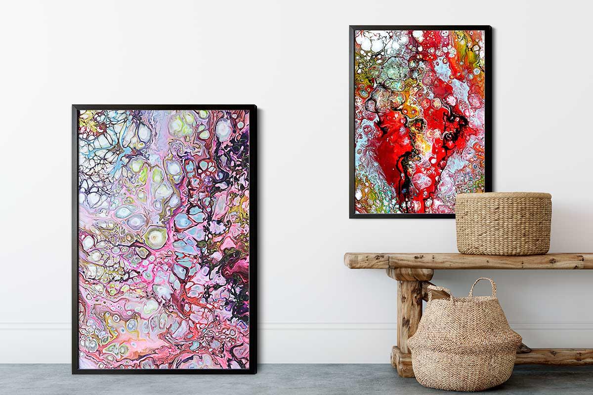Badezimmerposter mit Kunst online kaufen