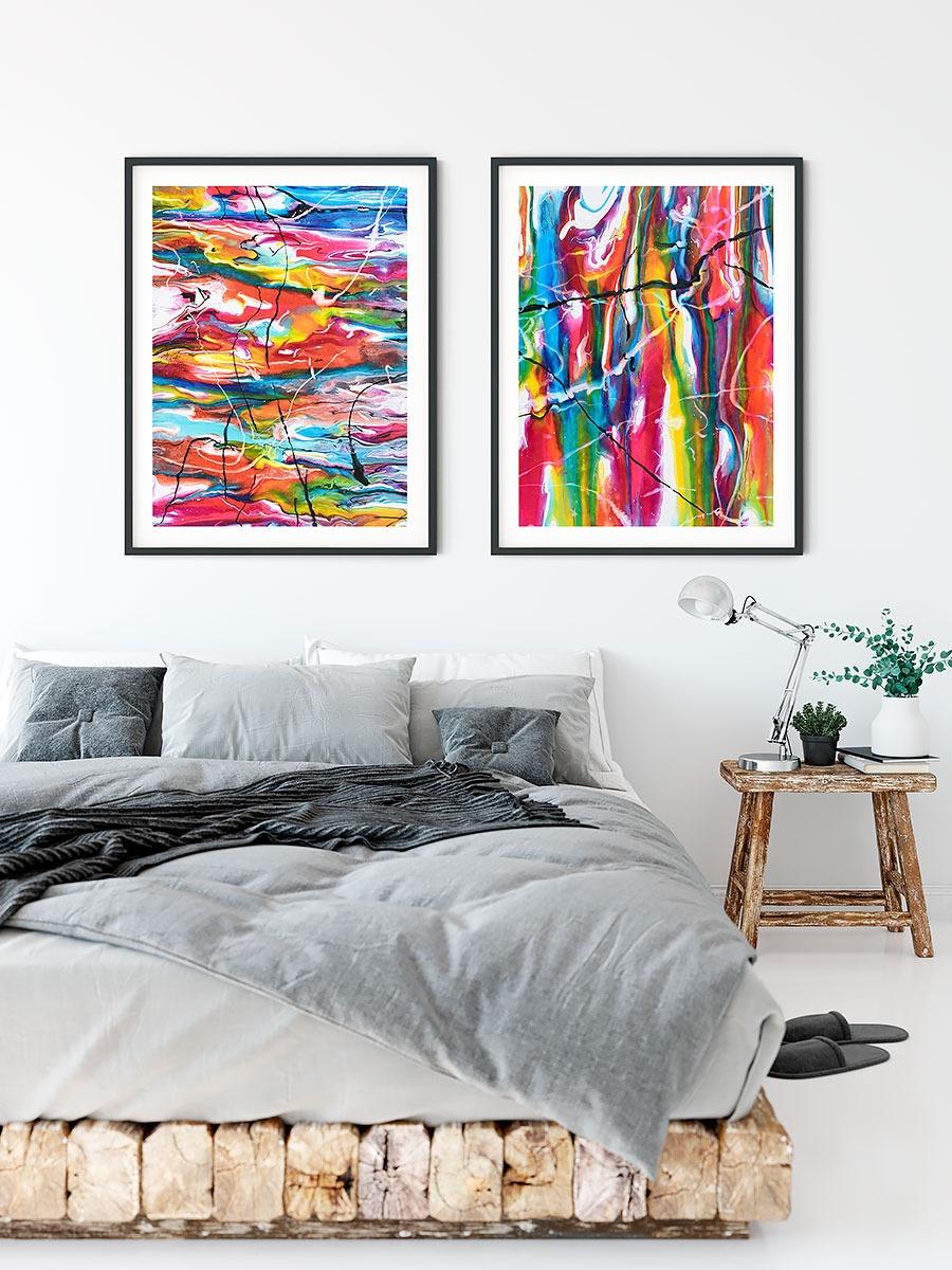 Poster für Schlafzimmer