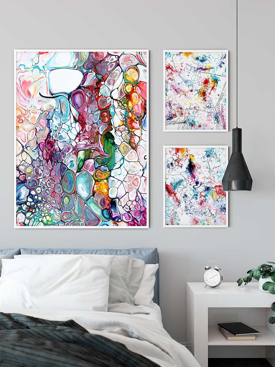 Wandposter für Schlafzimmer