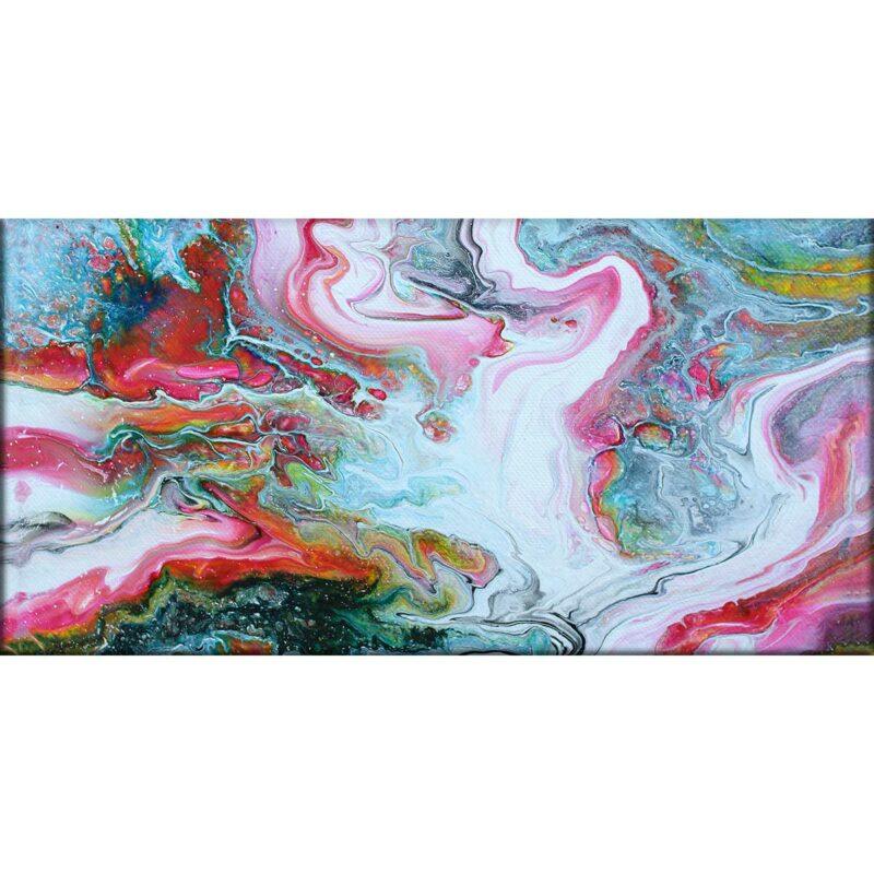 Kunstdruck auf Leinwand im modernen Stil Flows I 70x140 cm